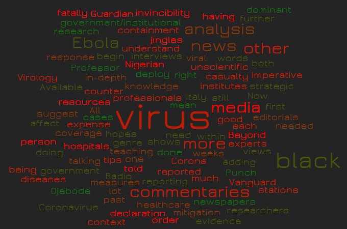 Insights and Foresights of Nigerian Media's Roles on Coronavirus