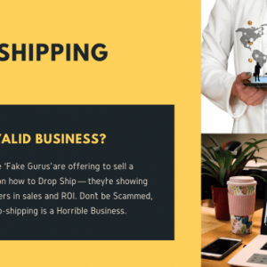 Why Dropshipping Is A Horrible Business