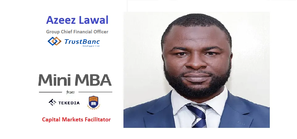Tekedia Mini-MBA: Market Expert Will Lead Session On Capital Markets, Investing And Fundraising