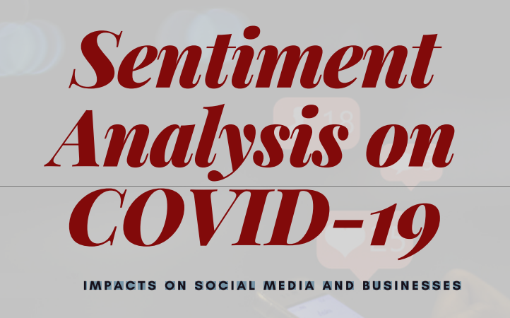 Sentiment Analysis on COVID-19 – Impacts On Social Media And Businesses