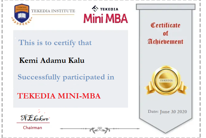 Congrats, New Certificates Sent to Members
