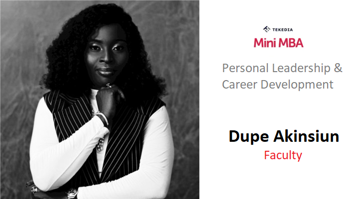 A Global HR Leader Will Teach Career & Personal Development During Tekedia Mini-MBA