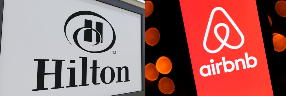 Airbnb and Hilton Direct and Indirect Bailouts