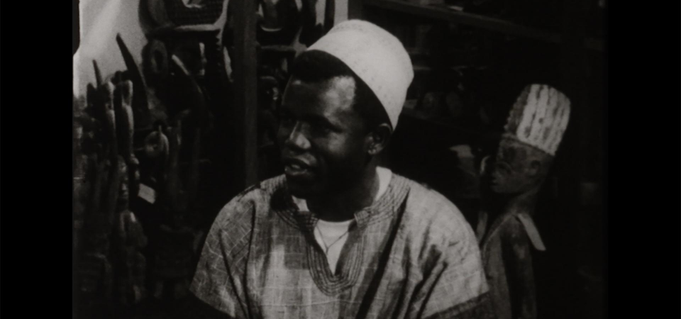 Chinua Achebe's interview by Wole Soyinka (1964) [Video]