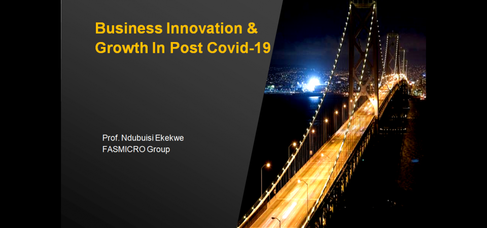 Ndubuisi Ekekwe Speech to Pan-African IT Forum – Business Innovation & Growth In Post Covid-19 World [Video]