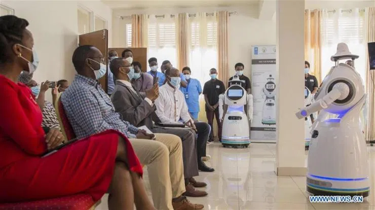 Nigeria Deploys Robots to Airports As it Prepares to Resume Commercial Flights