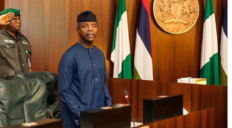 """There is no question at all that Fintech is crucial"" – Prof Yemi Osinbajo, Vice President, Nigeria"