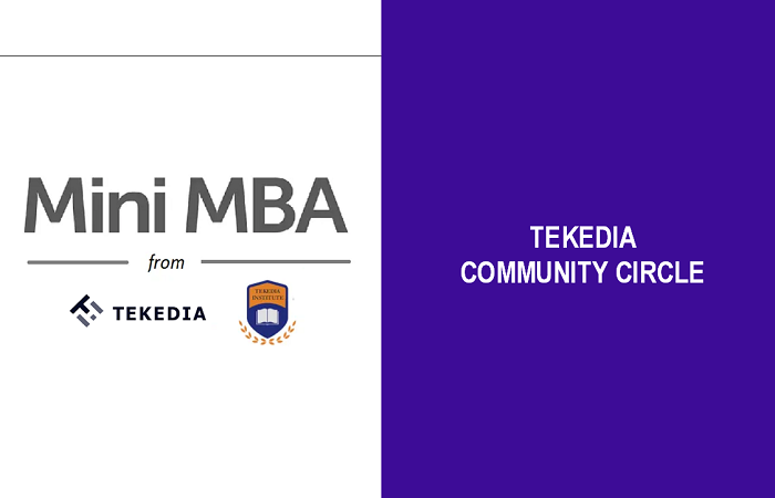 Tekedia Mini-MBA Launches Community Circle for Participants & Firms [Video]