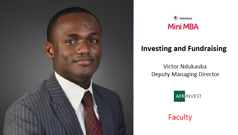 An Investment Banking Firm DMD Will Lead A Session on Investing & Fundraising
