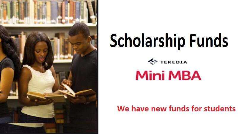 Tekedia Institute Receives More Scholarship Funds