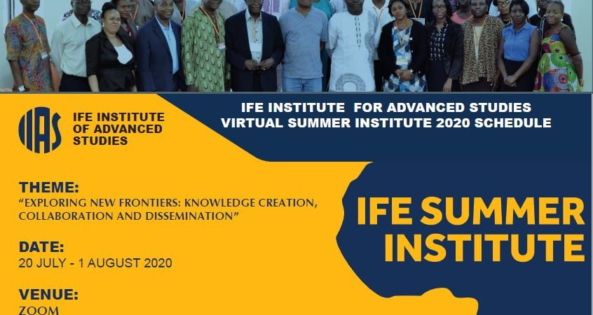Academia, Experts, Call for Paradigm Shift as Ife Institute of Advanced Studies Commences 4th Summer Institute