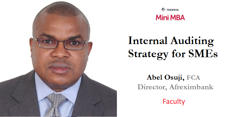 Afreximbank Director To Anchor Tekedia Mini-MBA Live Today, 7pm WAT