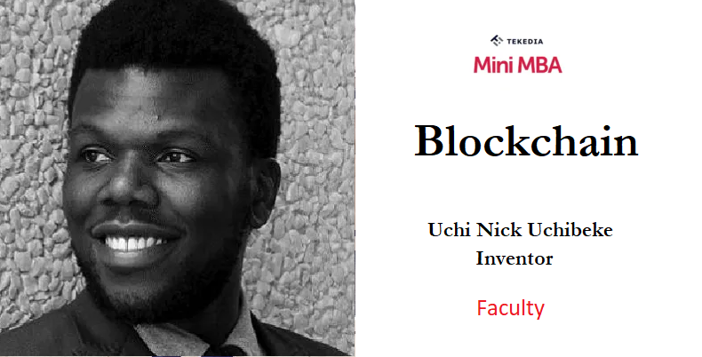 Blockchain in Tekedia Mini-MBA