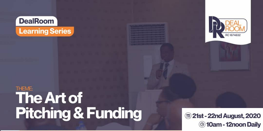 "Attend DealRoom Series: I Will Speak On ""The Physics of Fundraising"""