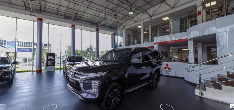 Innovation Lesson: VR Launch of Mitsubishi Pajero Sport to Nigerians