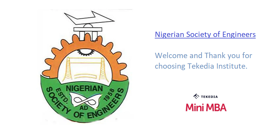 Thank You – Nigerian Society of Engineers