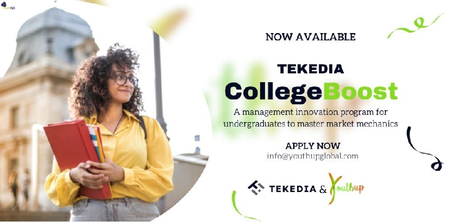 YouthUp Global Partners Tekedia Institute to Launch CollegeBoost