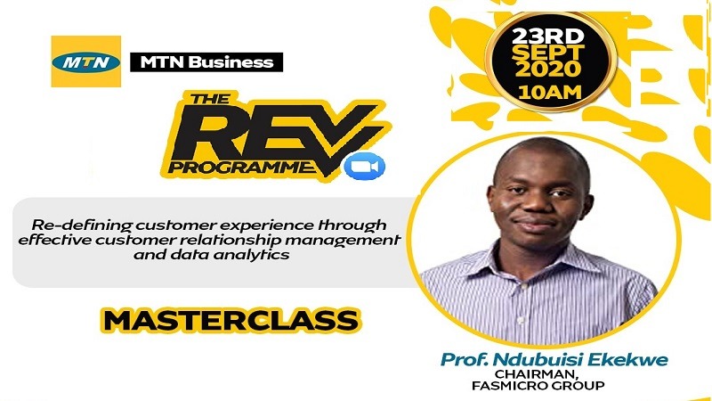 Join Ndubuisi Ekekwe At MTN Business Masterclass – 23rd Sept, 10AM WAT