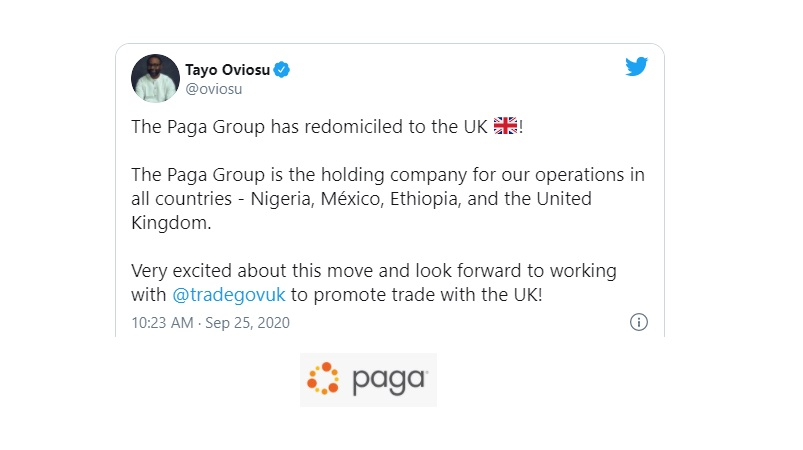 Paga Group Picks London As Its New Legal Home