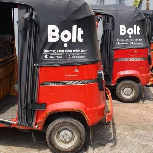Bolt Unbolts Enugu Traffic with Keke