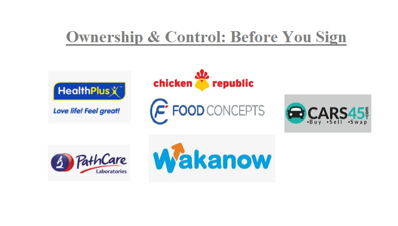 Ownership And Control in Nigeria: Before You Sign That Investment Document