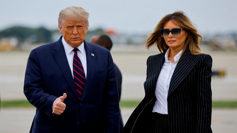 U.S. Election in Chaos As First Lady and President Trump Test Positive for COVID-19