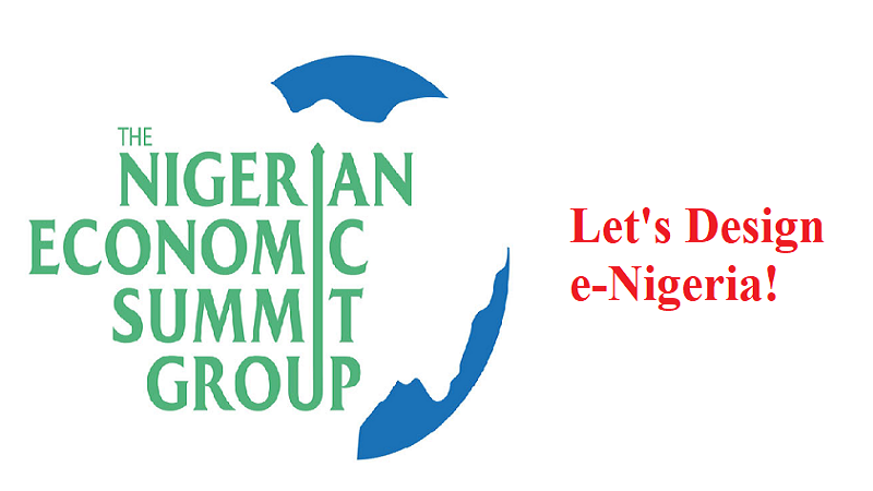 Let's Design e-Nigeria at The Nigerian Economic Summit