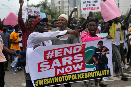 #EndSars Memorial: Remembering the Victims A Year After