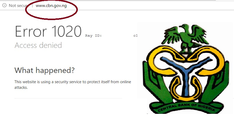 At 4pm Lagos Time (Oct 18, Sunday) CBN Website Remains Offline Here [Video]