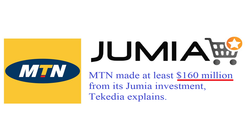 MTN Group Made At Least $160 Million Gain On Its Jumia Investments