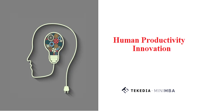 Human Productivity Innovation At Tekedia Institute