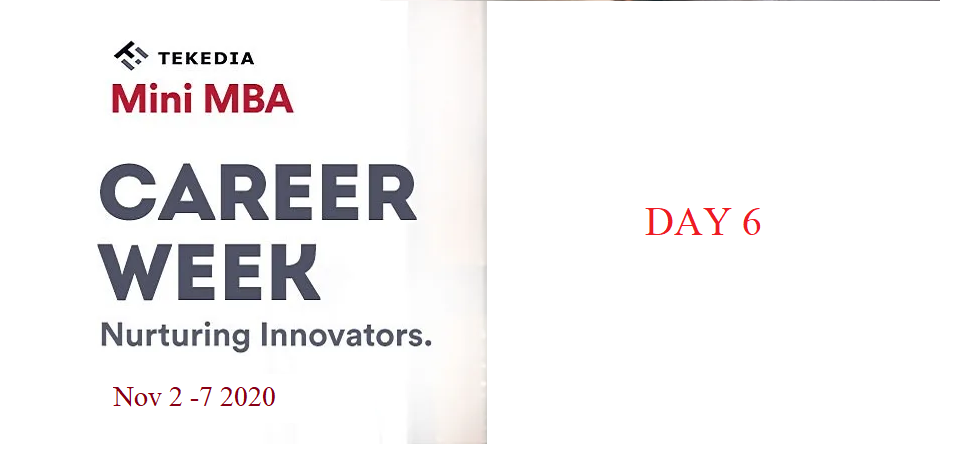 2020 Career Week Day 6