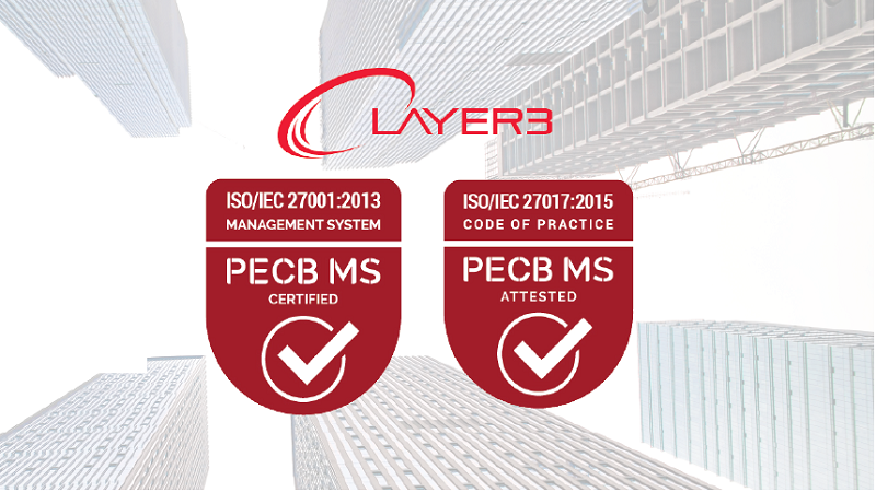 Layer3 Achieves 1SO27001 And ISO27017 Certifications