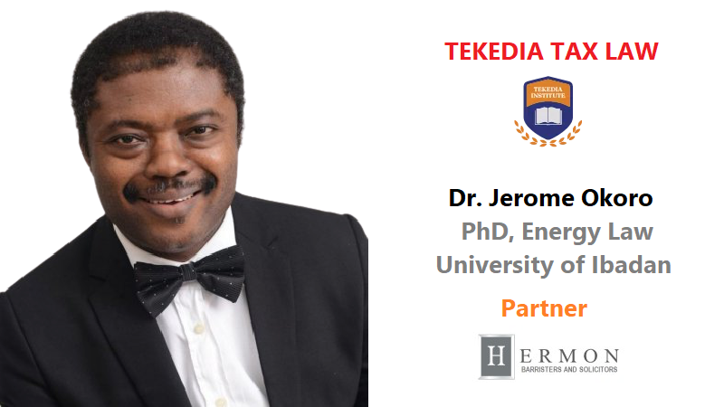 Tax Law and Global Tax Treaties at Tekedia Institute