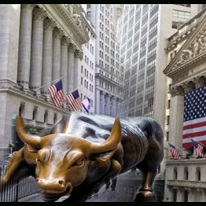 The Bull Welcomes The Goddess of Productivity As Dow Hits 30,000