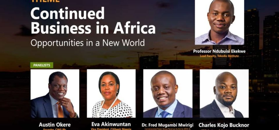 Join Ndubuisi Ekekwe As He Keynotes Africa Business Conference at Lagos Business School
