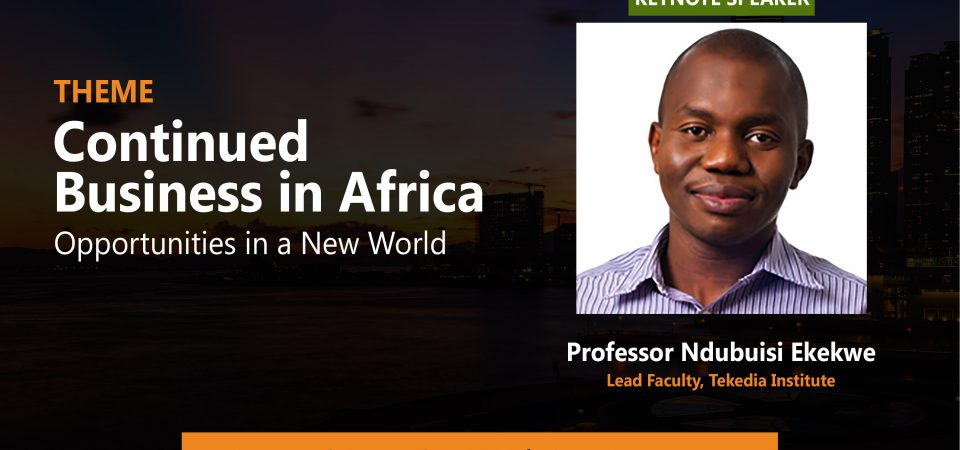 Join Us At Lagos Business School's African Business Conference NOW