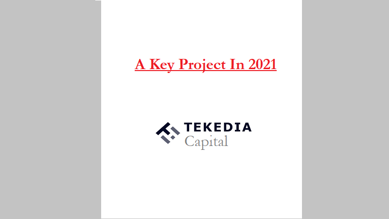 A Key Project In 2021 – Launching Tekedia Capital