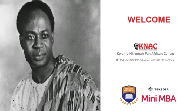 Welcome Kwame Nkrumah Pan-African Centre to Tekedia Institute