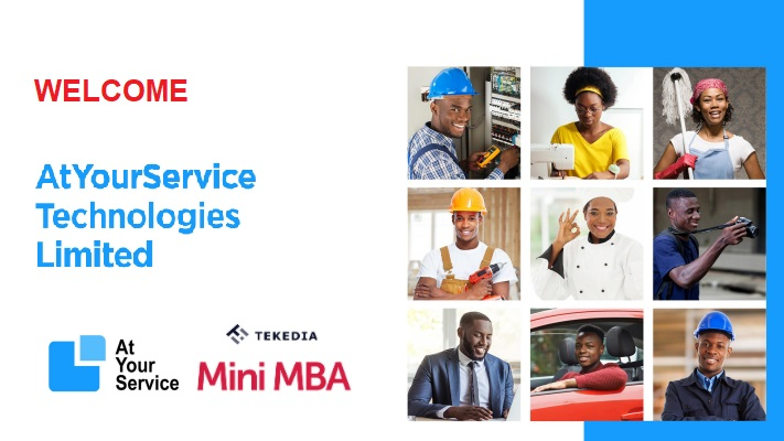 Welcome AtYourService Technologies To Tekedia Institute