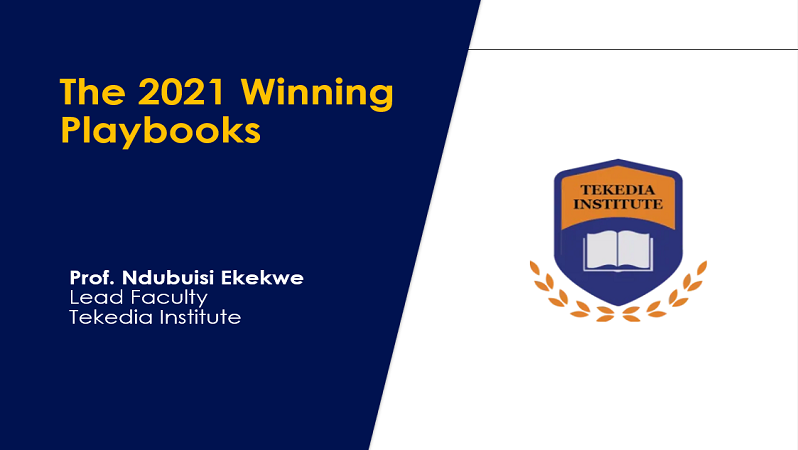 Tekedia Live – The 2021 Winning Playbooks [Recorded Video]