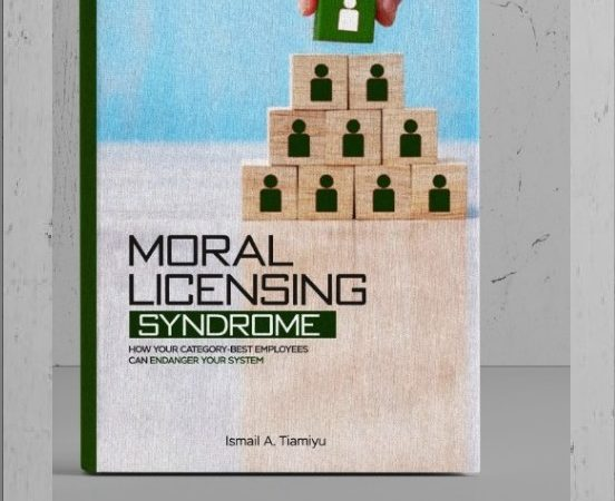 "Our Member Has A Book – ""Moral Licensing Syndrome"" [ Order Here]"