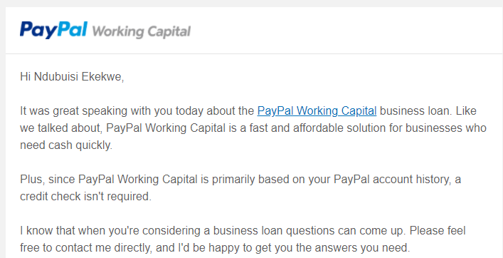 My Call with Paypal and Can the Nigerian banks do this to its customers?