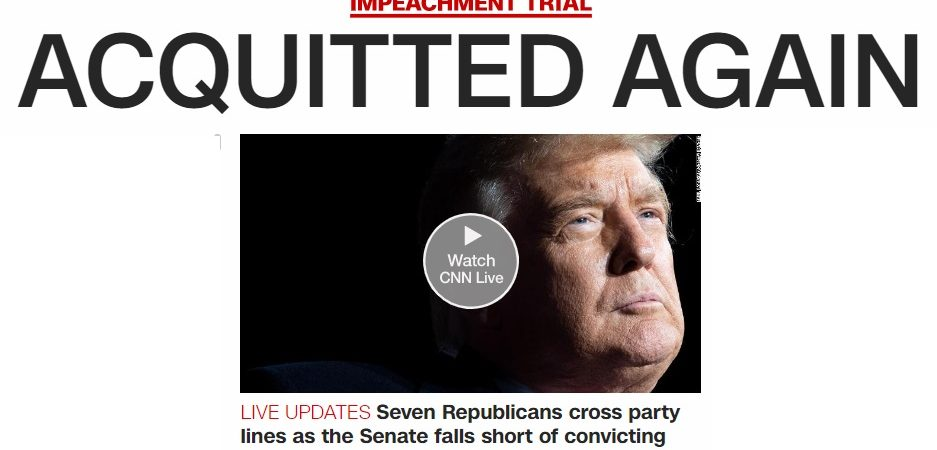 Trump 2.0 Evolves With The Senate Acquittal