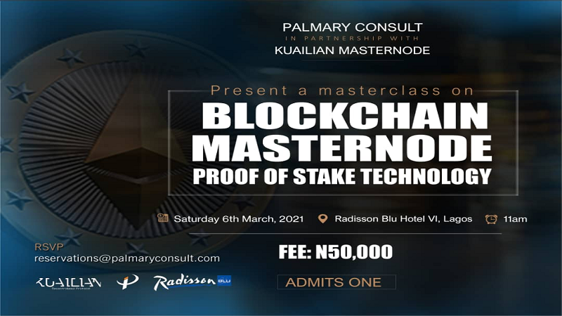Attend Masterclass on Blockchain Masternode Proof Of Stake Technology