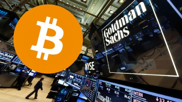 Goldman Sachs Anoints Bitcoin As It Opens A Cryptocurrency Desk: