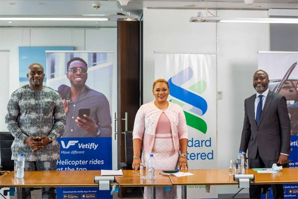 Standard Chartered Bank Nigeria Partners with Vetifly to Serve its Clients