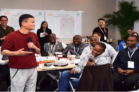 """""""Today's Africa is much better than … years ago when we started Alibaba"""" Jack Ma [Video]"""
