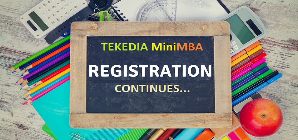 Advance Your Career and Business with Tekedia Mini-MBA