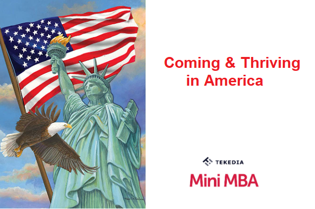 """Tekedia Mini-MBA Special Live Session – """"Coming & Thriving in America"""""""
